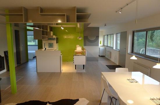1960s Andre Maisonnier-designed modernist property in Val de Saone, central France