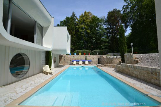 1960s Paul Andreu-designed modernist property in Seine-et-Marne, Ile-de-France, France