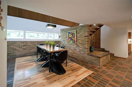 1960s Larry Brink-designed midcentury modern property in Ann Arbor, Michigan, USA