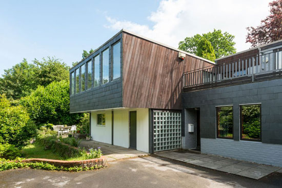 On the market: 1960s Murray, Ward & Partners-designed modernist property in Arford, Hampshire