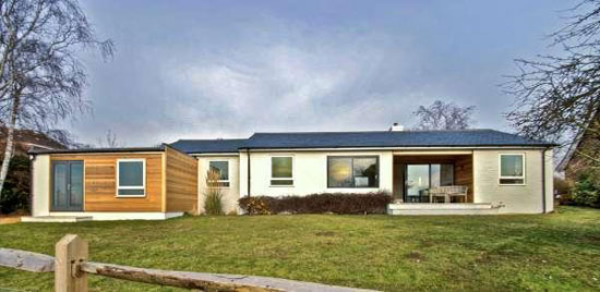 On the market: White Cottage four-bedroom bungalow in Warningcamp, near Arundel, West Sussex