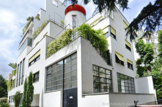 1920s Robert Mallet-Stevens-designed art deco artist's studio in Paris, France