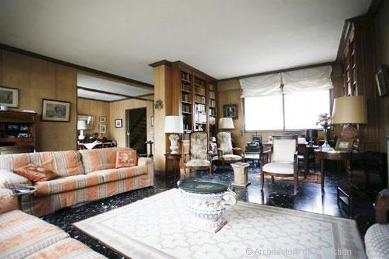1920s Robert Mallet-Stevens-designed modernist apartment in Paris, France