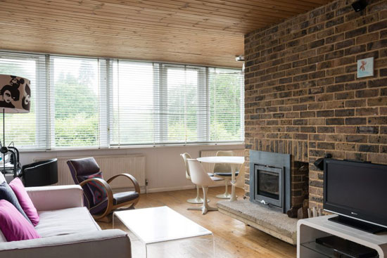 1960s Murray, Ward & Partners-designed modernist property in Arford, Hampshire