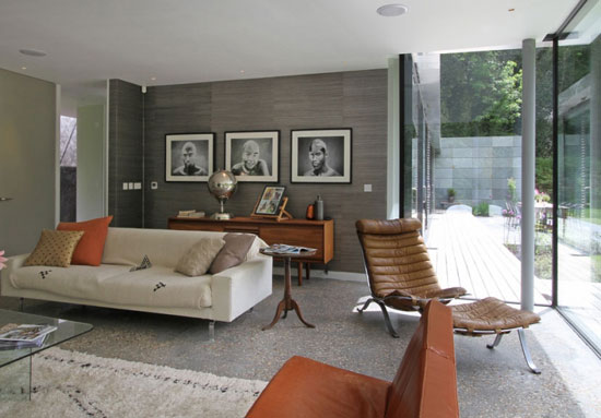 Archplan-designed contemporary modernist house in Farnham, Surrey