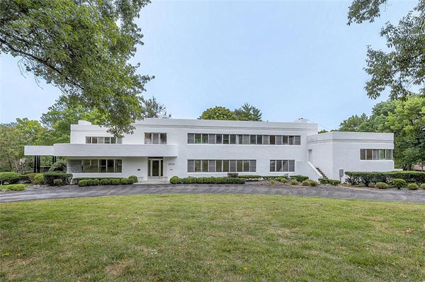 1930s Edward Tanner art deco renovation project in Kansas City, Missouri, USA