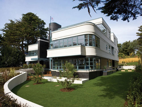 Art deco-inspired apartment in Sandbanks, Poole, Dorset