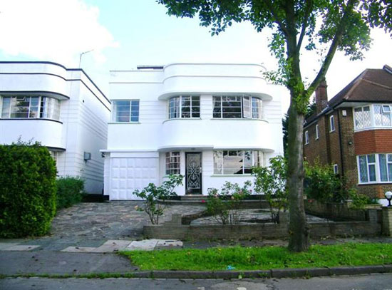 On the market: Four-bedroom 1930s art deco property in Southgate, London N14