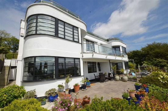 On the market: Two-bedroom art deco-style apartment in Leigh-On-Sea, Essex