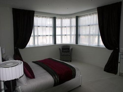 Art deco-inspired apartment in Sandbanks, Poole, Dorset