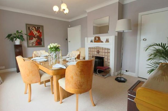 Four-bedroom 1930s art deco property in Kenton Middlesex