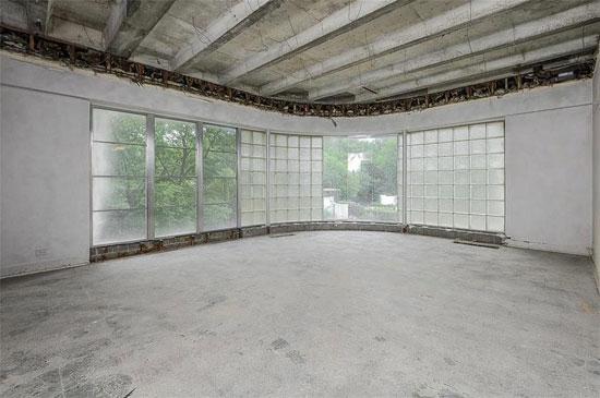 1930s Edward Tanner art deco renovation project in Kansas City, Missouri, USA