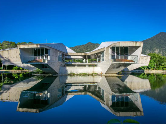 On the market: Charles Wright-designed Alkira brutalist property in Cape Tribulation, Queensland, Australia