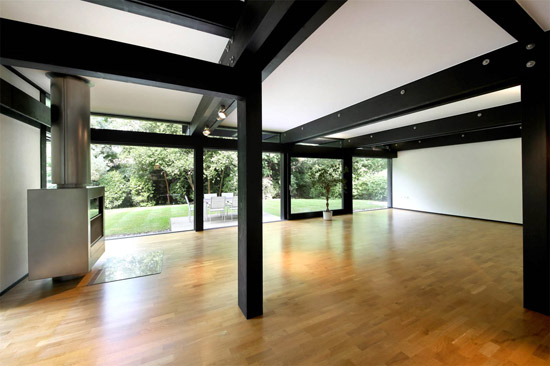 Modernist Huf Haus property in Ascot, Berkshire