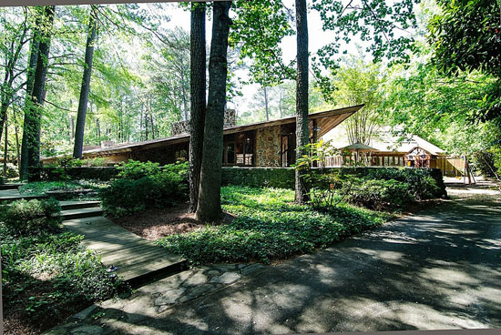 On the market: 1960s Robert Green-designed midcentury modern property in Atlanta, Georgia, USA