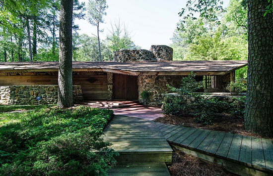 1960s Robert Green-designed midcentury modern property in Atlanta, Georgia, USA