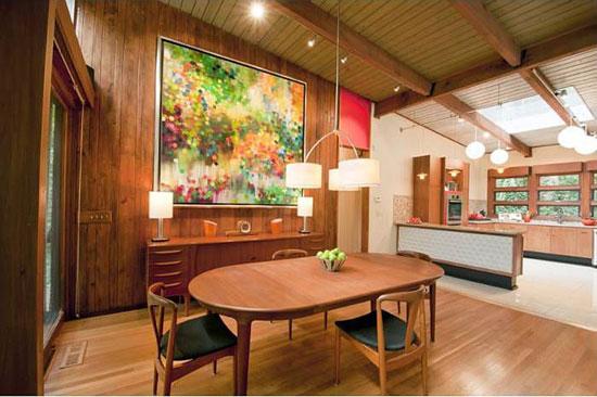 1950s midcentury modern property in Atlanta, Georgia, USA