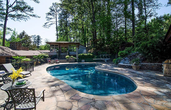1960s Robert Green-designed midcentury modern property in Atlanta, Georgia, USA