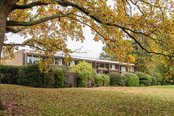 1960s Atelier 5 modern house on St Bernards estate, Croydon, Greater London