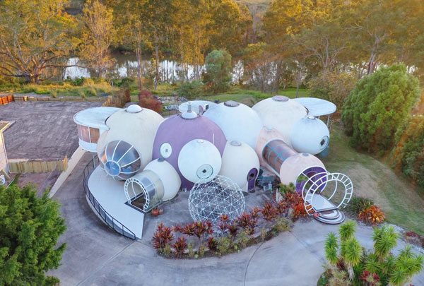 Graham Birchall Bubble House in Karalee Queensland, Australia