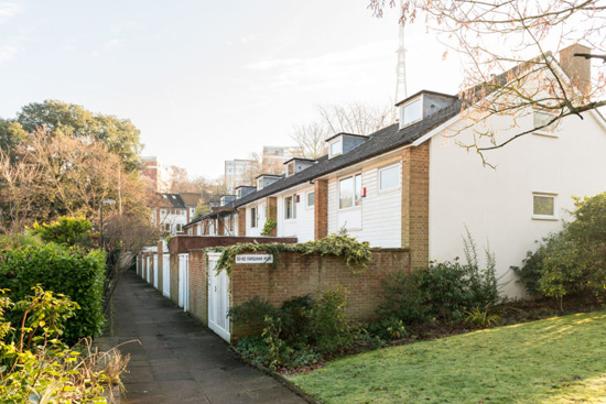 1960s modernism: Austin Vernon & Partners-designed townhouse on the Dulwich Estate, London SE26