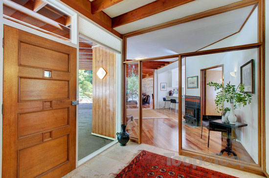 Redwood 1960s midcentury property in Crafers, South Australia