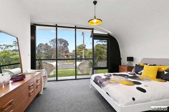 1960s Monolithic Structure midcentury modern property in Newtown, Victoria, Australia