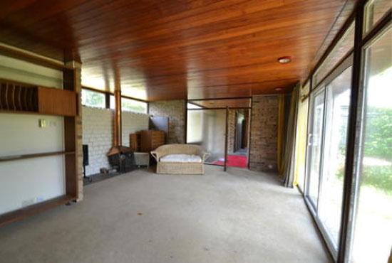 1960s three-bedroom single-storey modernist property in Aylesbury, Buckinghamshire