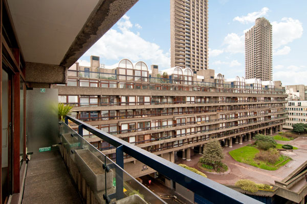 Apartment in Breton House on the Barbican Estate, London EC2