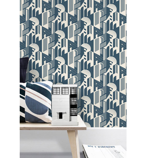 Mini Moderns unveils its Bauhaus wallpaper collection