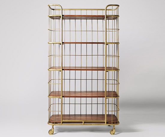 Limited edition Bert storage unit by Swoon Editions