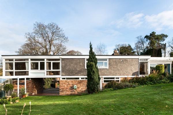 1950s Bridge House by Melvyn Seal in Condover, Shropshire