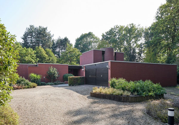 1970s Richard Foque modern house in Beringen, Belgium