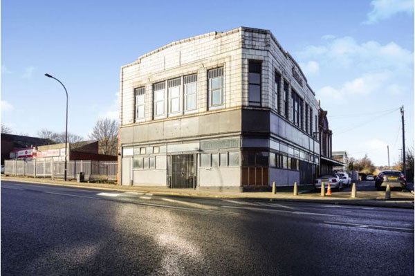 At auction: 1930s Burton's building in Sheffield, South Yorkshire