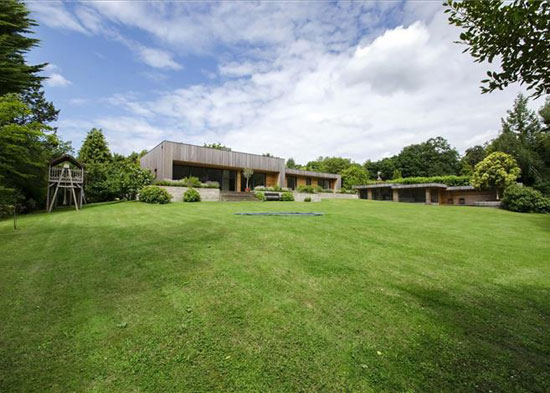On the market: Outwood modernist property in Beaulieu, Hampshire