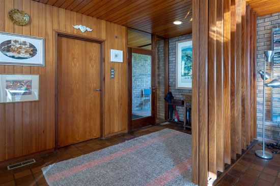 1960s modernist property in Broughty Ferry, near Dundee, Scotland