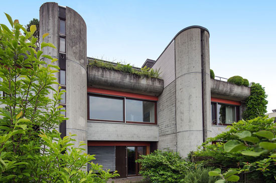 On the market: 1970s brutalist property in Zug, Switzerland