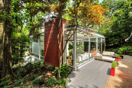 1960s Leon Brown and Thomas Wright-designed modernist property in Washington DC, USA