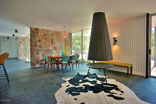 1950s Alfred Newman Beadle-designed Beadle House 7 in Paradise Valley, Arizona, USA