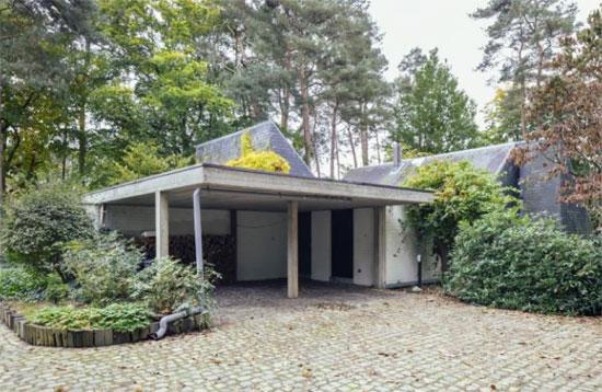 1970s Gerard Cools-designed brutalist property in Westerlo, Belgium