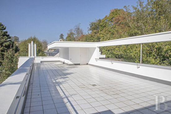 1930s Andre Lurcat-designed Villa-Hefferlin in Ville-d'Avray, Paris, France