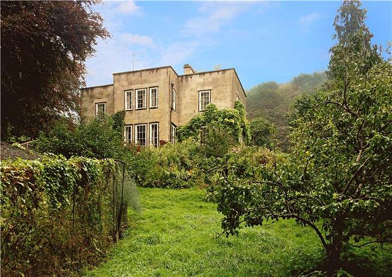 In need of renovation: 1930s Fayard House property in Monkton Combe near Bath, Somerset