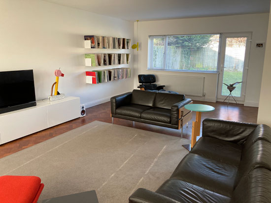 Adam and Alex's 1960s The Bookends modern house in Brighton, East Sussex