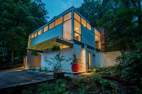 On the market: 1960s Leon Brown and Thomas Wright-designed modernist property in Washington DC, USA