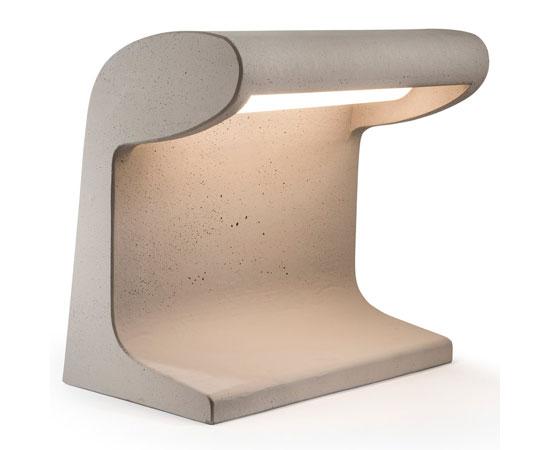 Brutal lighting: Nemo reissues Le Corbusier's Borne Béton lamp