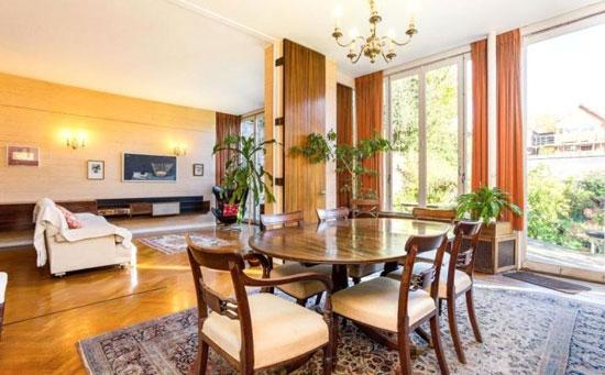 1930s Hermann Zweigenthal modernist property in Hampstead, London NW3