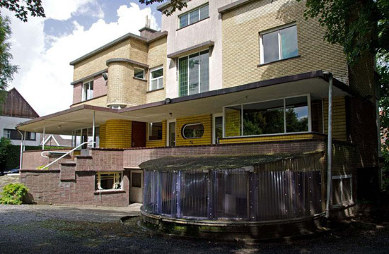 1930s Gentiel Eeckhoutte-designed art deco property in Waregem, Belgium