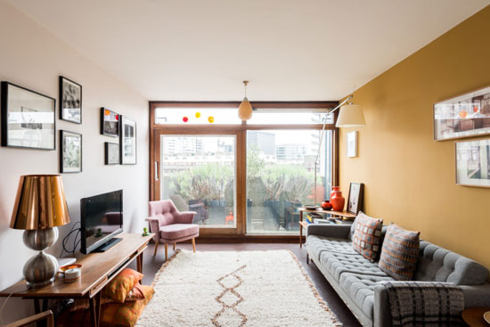 Barbican living: Triplex apartment in Bunyan Court on the Barbican Estate, London EC2