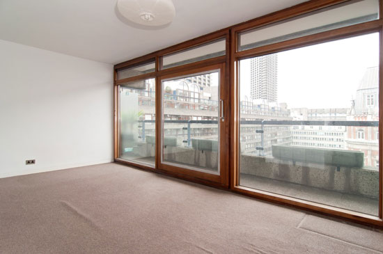 Apartment in Breton House on the Barbican Estate, London EC2