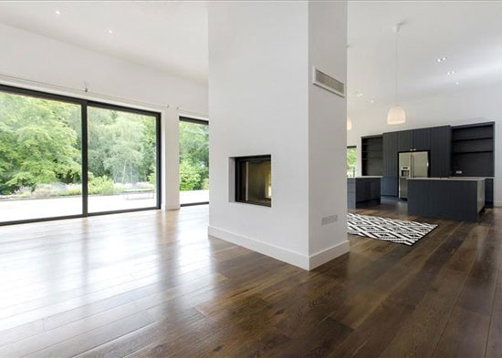 Outwood modernist property in Beaulieu, Hampshire
